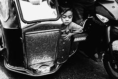 Tricycle (Meljoe San Diego) Tags: meljoesandiego fuji fujifilm x100f streetphotography street streetlife candid monochrome philippines