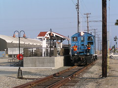 PHL Smurf at 22nd Street 6-17-03 (jsmatlak) Tags: san pedro california los angeles phl railroad train