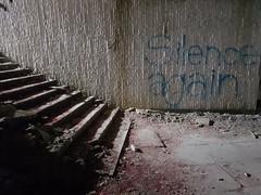 Bulgaria: Buzludzha (DJLeekee) Tags: bulgaria buzludzha spaceship monument soviet chamber concrete explore urbex tiles ceramics fist torches brutal communist party chambre streetart graffiti
