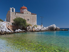 Kokkala church (senza senso) Tags: greece mani peloponnese church sea