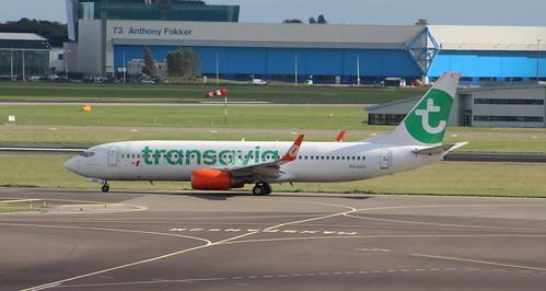 PH-GUU Boeing 737-8EH/W Transavia