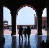 Delhi Jama Masjid interior silhouette (Heaven`s Gate (John)) Tags: delhi jama masjid india art interior people sillhouette johndalkin heavensgatejohn
