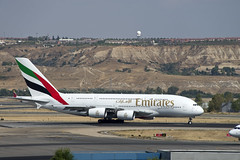 Emirates Airbus A380-861 (A6-EER) © (CAUT) Tags: spotting spotter planespotting aircraftspotting avion aircraft plane flugzeug aviacion aviation 2016 caut airport aeropuerto aeroporto flughafen aeronautico mad lemd madrid españa spain madridbarajas barajas nikon nikond610 d610