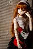 Red rocker girl (bluebluewave) Tags: dd ddiii dollfiedream dollfie volks saberalter2ndver tsukiko