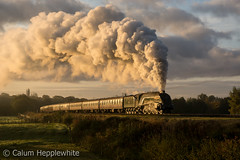 60009 - Burrs - 18th October 2017 (Calum Hepplewhite) Tags: 60009 unionofsouthafrica burrs eastlancashirerailway lner br brgreen britishrailways a4 pacific 462 streak gresley nikond7100 omot