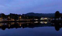 « Petit matin » sur Châteaulin et la campagne (Chti-breton) Tags: canaldenantesàbrest fleuve canal aurore leverdesoleil reflet