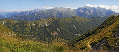 Kanin / Monte Canin massif from Zajavor (Vid Pogacnik) Tags: italia italy julianalps zajavor mountain hiking landscape outdoors panorama kanin montecanin