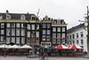 Choices in Amsterdam (BAN - photography) Tags: cafes restaurants bars hotel bicycles umbrellas tables chairs amsterdam d810