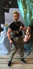 Army Man Bastian (MaxxieJames) Tags: vittoria belmonte bastian hunter barbie ken mattel teresa made move superman fashionista fashion clothes doll dolls collector halloween costumes costume fancy dress trick or treat