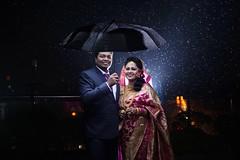 Arifin & Bushra (RoUcY1) Tags: rain umbrella night couple wedding dhaka asian model bride groom bangladeshi biye bowvaat thaichai restaurant bijoy shoroni muztoba rabbani romantic