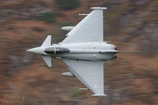 RAF EF Typhoon FGR4 3 Sqn ZK371 C/S 'CHAOS'