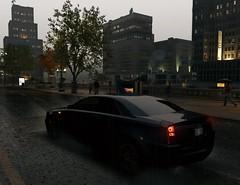 Adamant S-Series (Brandon ProjectZ) Tags: watchdogs ubisoft overcast windy rain roads lights cars vehicle trees buildings natural lighting