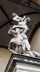 Ratto delle Sabine (saveriosalvadori) Tags: florence firenze art arte loggiadellorcagna sculpture scultura