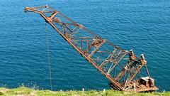 14 06 29 Samson Wreck  (13) (pghcork) Tags: samson wreck shipwreck crane craneship cranebarge barge ardmore coast sea waterford ireland ramshead cliffwalk ardmorecliffwalk