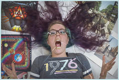 Shout it out Loud! (Luv Duck - Thanks for 11M Views!) Tags: select sydni 1976 shouting girlwithglasses yelling rocknroll classicrock modeling model girlshouting alaskangirls anchoragegirls