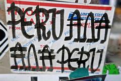 Peru Ana Ana Peru, New York, NY (Robby Virus) Tags: newyorkcity newyork nyc ny manhattan city bigapple peru ana sticker slap priority mail usps