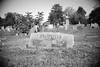 (John Donges) Tags: newyork rhinebeck hudsonvalley stpaulswurtemburgcemetery blackandwhite graves grandparents palmateer 5227