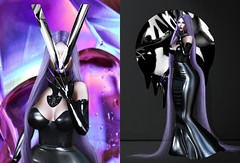 Soda . (Venus Germanotta) Tags: secondlife fashion style avantgarde latex fierce fashionista highfashion pixicat foxy violet pastel purple aesthetic soda glamour fabulous stilettonails jewelry chic highlife longhair longweave weave luxury luxurious photoshop photography graphicdesign design edit blog blogger blogging blogpost epiphany event lighting perspective colour colors vibrant hue magenta contrast liquid metal stylish gown dress glam venus black drip fluid shine plastic shadow pose model fantasy fantasea music oddity bizarre azealiabanks expensivetaste hautecouture sickening
