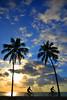 DSC_0417 - NRR (nelsonreyes2) Tags: maceio beach playa sunrise amanecer dawn bicicleta bike morning palmeras palm