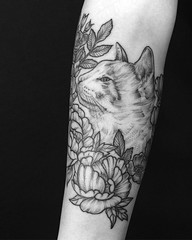 A cat named Baby Kitty :) Thank you Christina! .. ... .... #eyeofjadetattoo #eyeofjade #jeremygolden #jeremy_golden #jeremygoldentattoo #blackwork #blackworkerssubmission #darkartists #blacktattoomag #blxckink #blacktattooart #btattooing #onlyblackart #bl