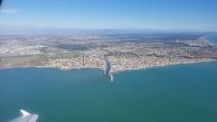 Fiumicino (Luigi Rosa) Tags: italia italy roma fiume river foce flight volo above