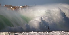 Chased (McSnowHammer) Tags: supertubos big wave bigwave surfing peniche ripcurl ripcurlpro ocean water action sports massive