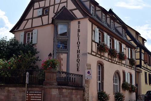 Bibliothèque de Bergheim