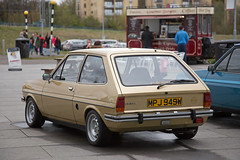 Mk 1 Ford Fiesta (<p&p>photo) Tags: mpj949w gold 80s 1981 1980s fiesta mk 1 ford 1300 fordfiesta13 mk1fordfiesta13 fordfiesta mk1fordfiesta mkifordfiesta fordfiestamarki mark i fordfiestamark1 auto motor classic classiccar classiccarshow show display event autoshow glasgow scotland uk riverside museum transport glasgowriversidemuseumoftransport riversidemuseum glasgowtransportmuseum glasgowmuseumoftransport riverclyde clydeside river clyde worldcars may 2016 may2016