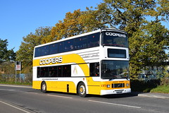 Coopers Tours N116 UHP (davidvines1) Tags: bus coach volvobus volvoolympian volvo cooperstours alexander royale