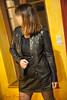 elle356 (Cuir Couple) Tags: cuir leder leather cuero veste jacket jupe skirt pantalon pant hosen mistress maitresse cuissardes maître master bondage bdsm