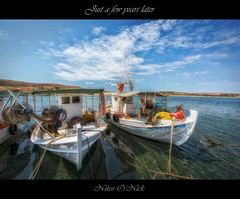 Just a few years later (Nikos O'Nick) Tags: nikos kotanidis nick onick nikon d810 nikkor 1424mm tripod manfrotto 055xprob 498rc2 greece hellas island lemnos limnos varos kotsinas cloud blue sea hdr nik software κοτανίδησ νίκοσ λήμνοσ αιγαίο θάλασσα ψαρόβαρκεσ μπλε ουρανόσ σύννεφα aegean color efex pro4 nikond810 νίκοσκοτανίδησ