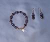 REGAL PURPLE AMETHYST. (Paper Irises) Tags: jewelery amethyst silver earrings rose gold beads bracelet
