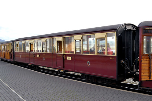 Festiniog Railway Carriage 104