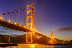 Fort Point - Golden Gate (Tony Shi Photos) Tags: sanfrancisco sf bayarea san francisco california usa traveldestination touristattraction goldengatebridge gg golden gate bridge marinheadlands marin fortpoint