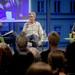 Podium v.l.n.r. Patrick Wildermann, Andreas Altenhof, Ingrid Hentschel,
