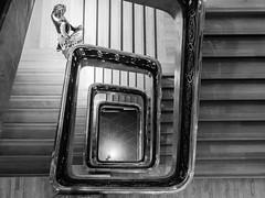Stairs (YZ [Street]) Tags: noirblanc streetphoto street streetphotography blackwhite stairs urban noiretblanc sw cities bw bnw blackandwhite city downtown