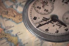 souvenir (Uniquva) Tags: macromondays souvenir clock map texture