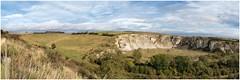 The 'Malton Dodger' - lost lines. (Alan Burkwood) Tags: burdalewarren maltondriffieldrly maltondodger chalk quarry trackbed railway yorkshirewolds