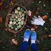 autumn apples (Kuntieva Kseniya) Tags: archives autumn apple day nature happy hand green good grass girl gray light legs photo photographer portrait