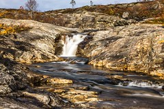 Near Melfjordbotn (Einar Schioth) Tags: melfjørdbotn water waterfall day sky sunshine sun shore canon clouds cloud coast vividstriking nationalgeographic ngc norway norge nature nordland river rocks rock landscape photo picture outdoor einarschioth