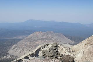 View Northwest, Lassen Peak
