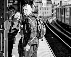 Dykman 1 Train Station (tonyakimbo) Tags: mta monochrome bnw subway streetphotography