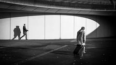 generations.. (John Bastoen) Tags: straatfotografie street streetphotography shadow old young hip light