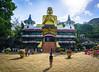 The Boy and the Buddha (DSC4146) (DJOBurton) Tags: sri lanka srilanka dambulla goldentemple buddha