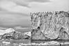 Atlantic on the rocks (Role Bigler) Tags: 50mp bw blackwhite blackandwhite canoneos5dsr diskobucht ef4070200isusml glacier ice ilulissat meer natur nature schwarzweiss sea discobay disobay eis eisberg fullformat gletscher greenland grönland grönlandeis gull iceberg nordatlantik northathlantic northatlantic ontherocks