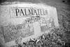 (John Donges) Tags: newyork rhinebeck hudsonvalley stpaulswurtemburgcemetery blackandwhite graves grandparents palmateer 5234