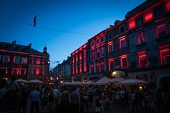 Lublin Urban Highline Festival 2017 (mikper) Tags: lublin 2017 urbanhighlinefestival semester carnavalsztukmistrzów night polen poland lubelskie pl