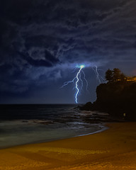 Who needs sleep (Tim_Matthews) Tags: 2017 avalonbeach nightphotography norhernbeachesphotography northernbeaches storm lightning