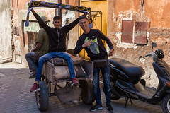 Football Fans (Hector16) Tags: africa october morocco lavilladesorangers unescoworldheritagesite المَغرِب northafrica مراكش berber marrakech kingdomofmorocco marrakesh marrakechtensiftalhaouz ma