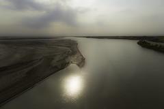 Amu Darya: On the border, Uzbekistan, Turkmenistan (desimage) Tags: amudarya oxus uzbekistan river asia silkroute desimage alexanderthegreat silkroads turkmen